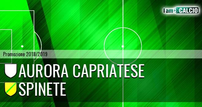 Aurora Capriatese - Spinete