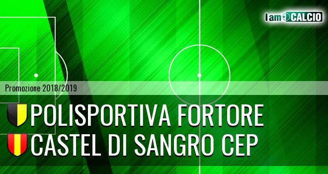 Polisportiva Fortore - Castel di Sangro CEP