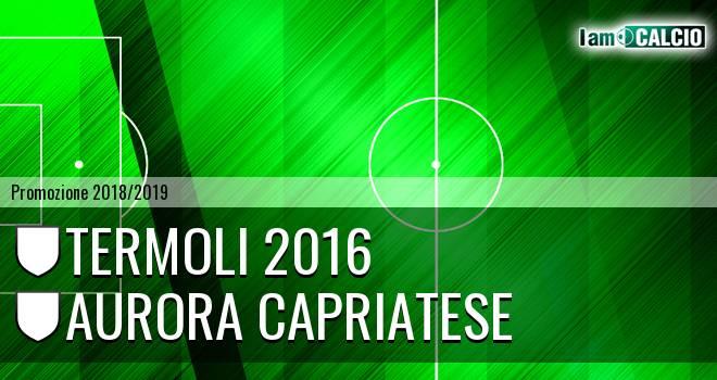 Termoli 2016 - Aurora Capriatese