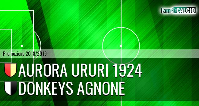 Aurora Ururi 1924 - Donkeys Agnone