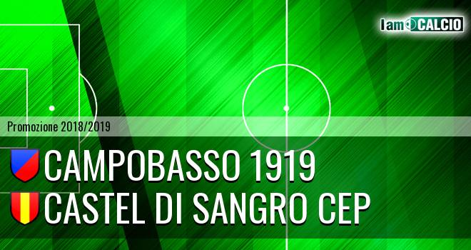 Campobasso 1919 - Castel di Sangro CEP 1953