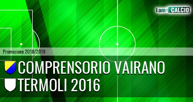 Comprensorio Vairano - Termoli 2016