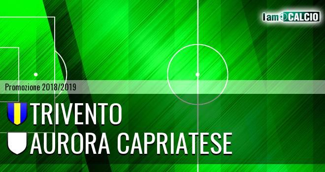 Trivento - Aurora Capriatese