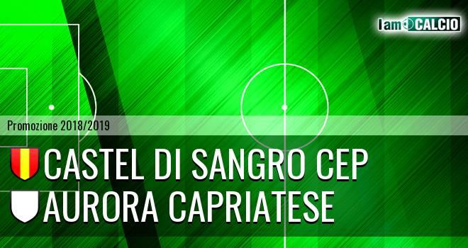 Castel di Sangro CEP - Aurora Capriatese