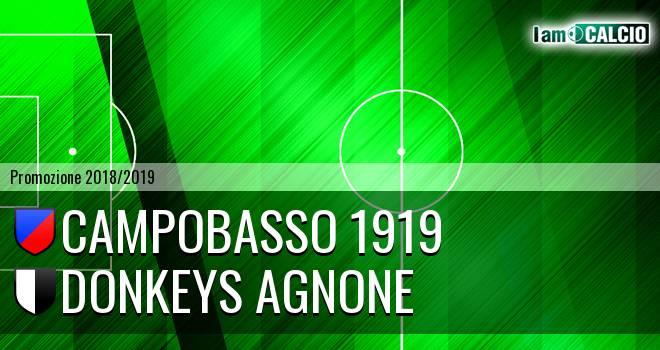 Campobasso 1919 - Donkeys Agnone