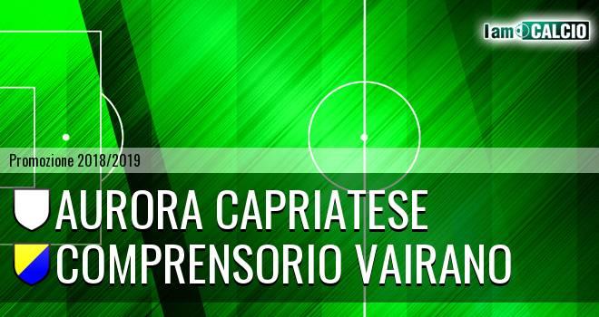 Aurora Capriatese - Comprensorio Vairano