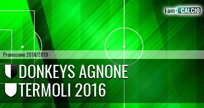 Donkeys Agnone - Termoli 2016