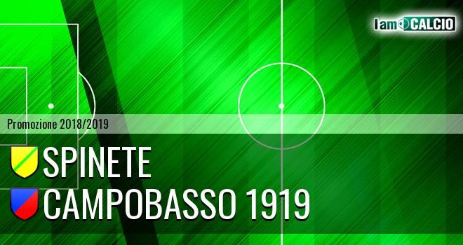 Spinete - Campobasso 1919