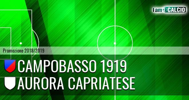 Campobasso 1919 - Aurora Alto Casertano