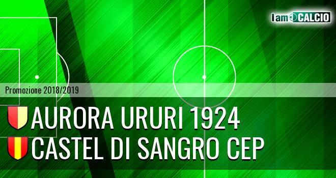 Aurora Ururi 1924 - Castel di Sangro CEP 1953
