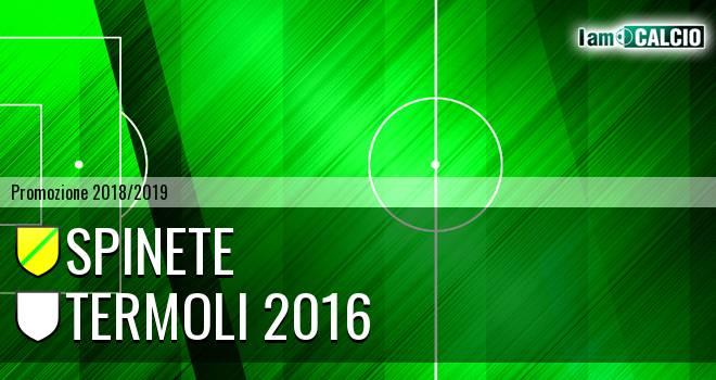 Spinete - Termoli 2016