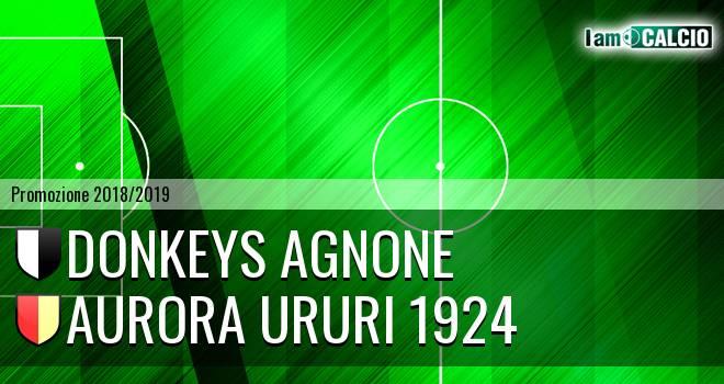 Donkeys Agnone - Aurora Ururi 1924