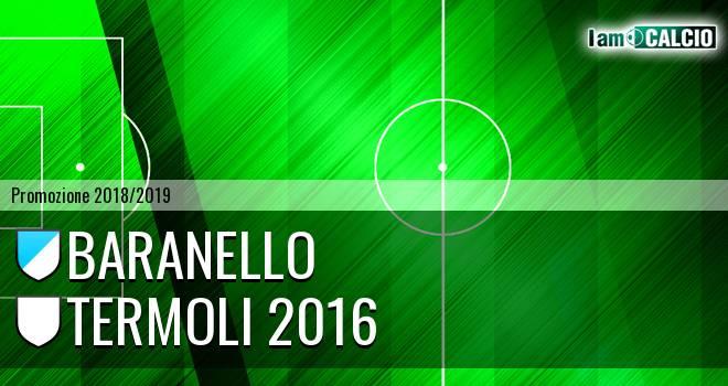 Baranello - Termoli 2016