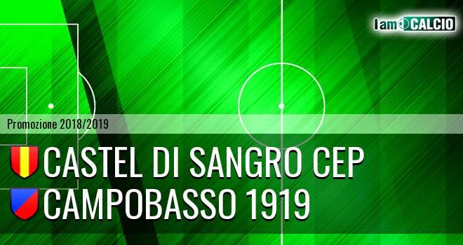 Castel di Sangro CEP 1953 - Campobasso 1919
