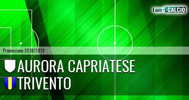 Aurora Alto Casertano - Trivento