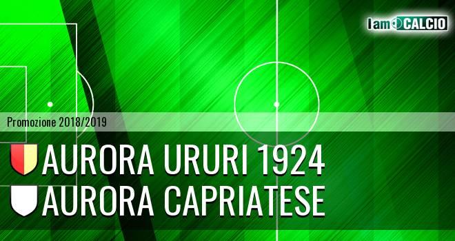 Aurora Ururi 1924 - Aurora Capriatese