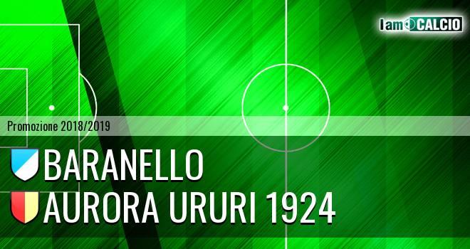Baranello - Aurora Ururi 1924