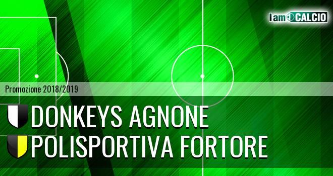 Donkeys Agnone - Polisportiva Fortore