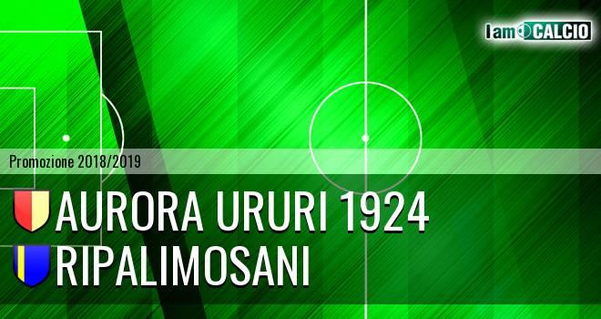 Aurora Ururi 1924 - Ripalimosani