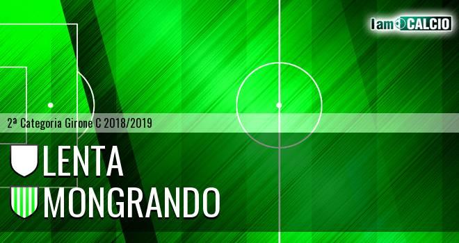 Lenta - Mongrando 3-2. Cronaca Diretta 23/09/2018