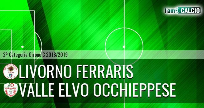 Livorno Ferraris - Valle Elvo Occhieppese 2-3. Cronaca Diretta 31/03/2019