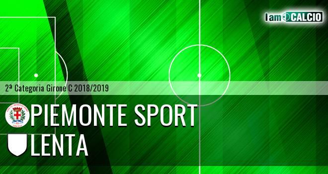 Piemonte Sport - Lenta