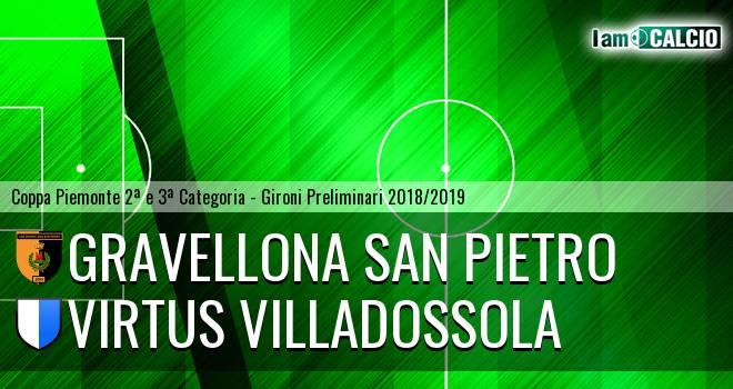 Gravellona San Pietro - Virtus Villadossola