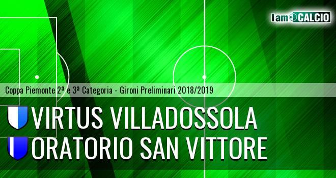 Virtus Villadossola - Oratorio San Vittore