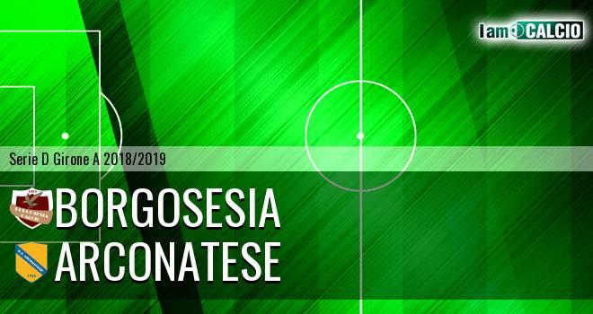 Borgosesia - Arconatese