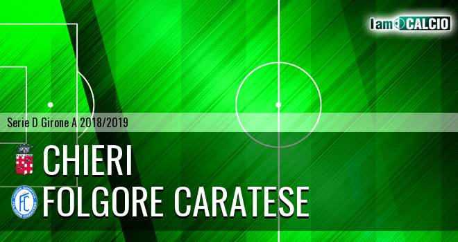 Chieri - Folgore Caratese