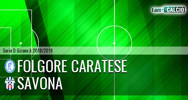Folgore Caratese - Savona