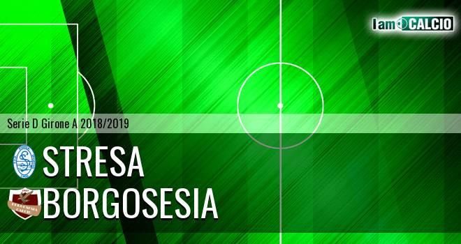 Stresa - Borgosesia 2-3. Cronaca Diretta 12/12/2018