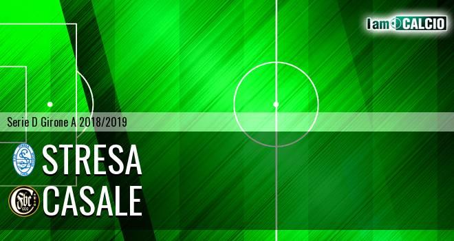 Stresa - Casale 0-2. Cronaca Diretta 22/12/2018