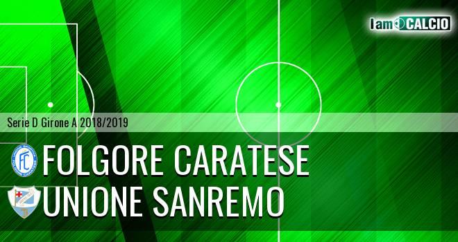 Folgore Caratese - Unione Sanremo