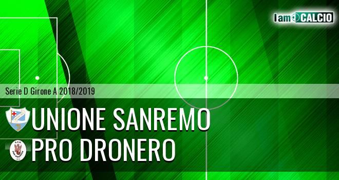 Unione Sanremo - Pro Dronero
