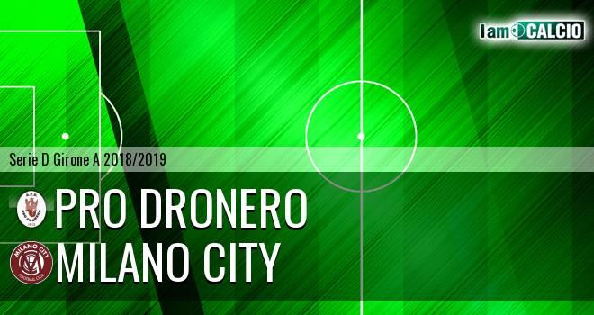 Pro Dronero - Milano City
