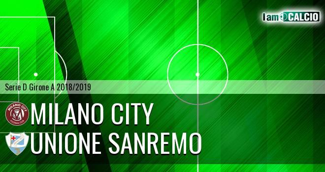 Milano City - Sanremese