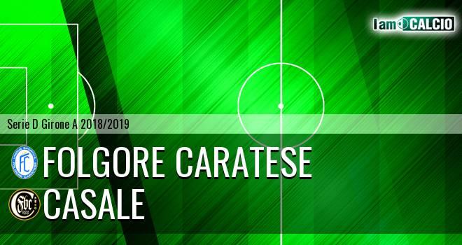 Folgore Caratese - Casale
