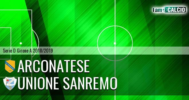 Arconatese - Unione Sanremo