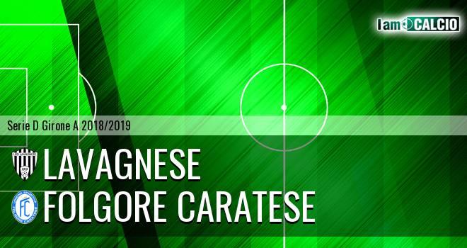 Lavagnese - Folgore Caratese