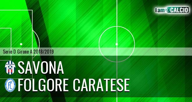 Savona - Folgore Caratese