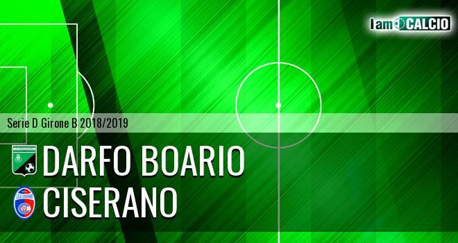 Darfo Boario - Ciserano