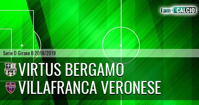 Virtus CiseranoBergamo - Villafranca Veronese