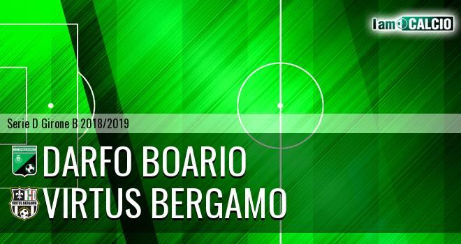 Darfo Boario - Virtus Ciserano Bergamo