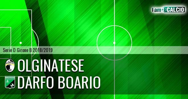 Brianza Olginatese - Darfo Boario