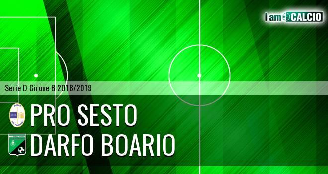 Pro Sesto - Darfo Boario