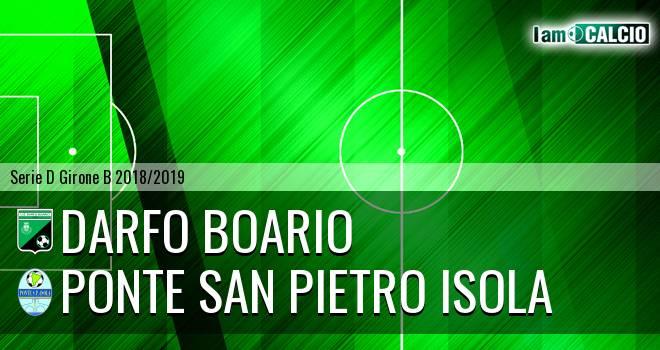 Darfo Boario - Ponte San Pietro Isola