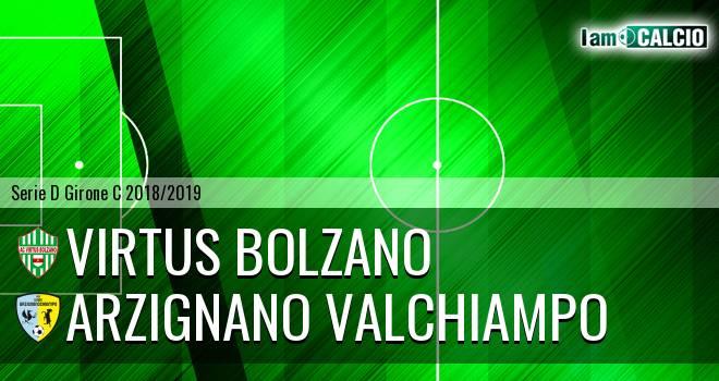 Virtus Bolzano - Arzignano Valchiampo