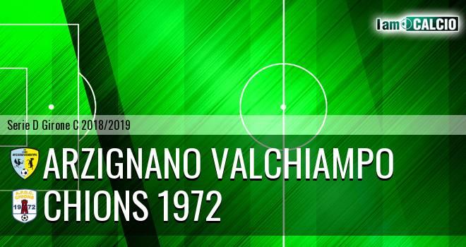 Arzignano Valchiampo - Chions
