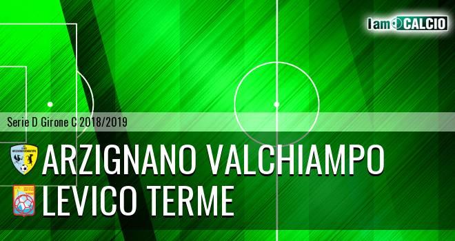 Arzignano Valchiampo - Levico Terme